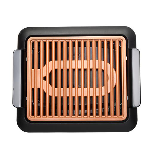 gotham-steel-smokeless-grill-barbecue-electrique